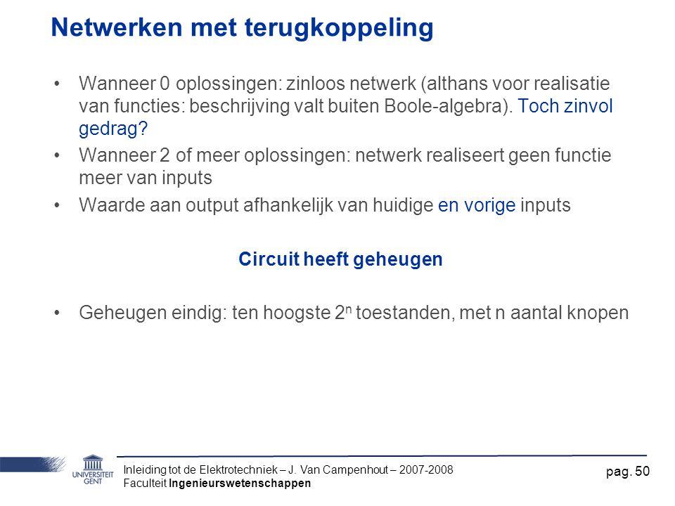 Inleiding tot de Elektrotechniek – J.