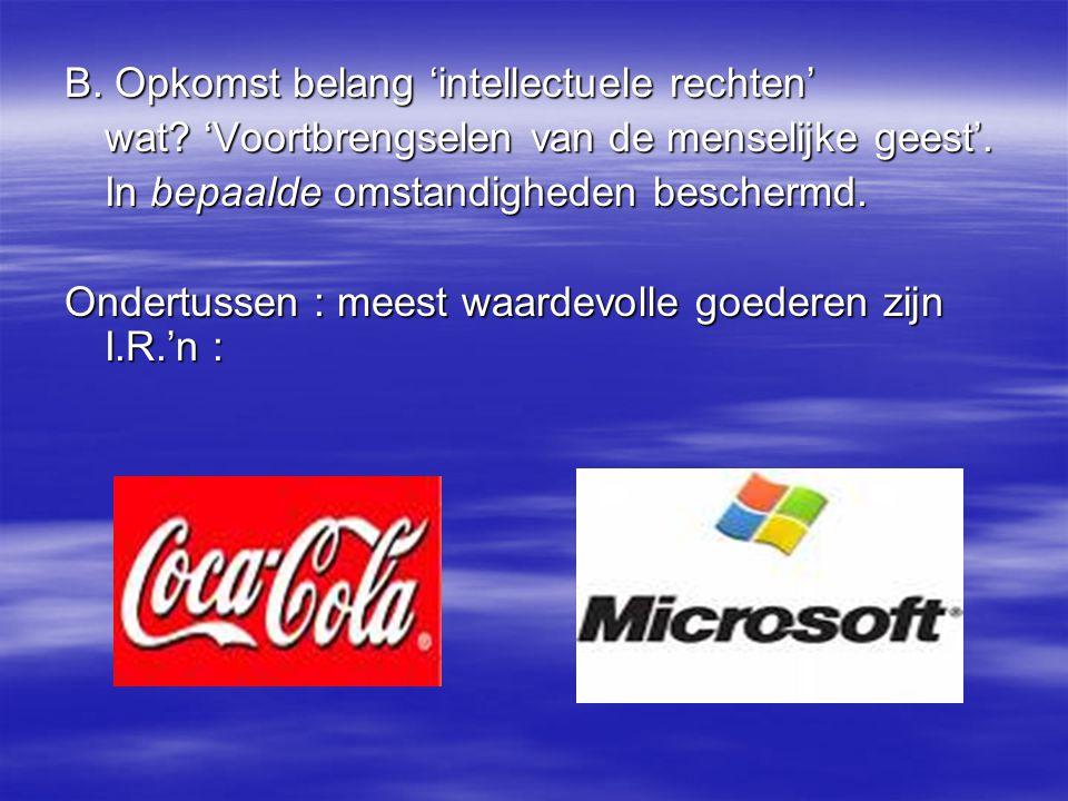 A.Auteursrecht Quid software- computerprogramma's.