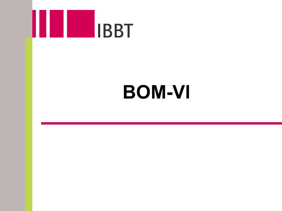 BOM-Vl
