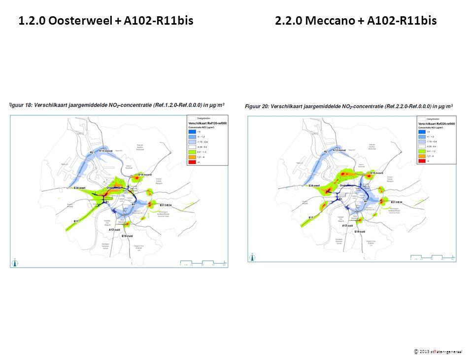 1.2.0 Oosterweel + A102-R11bis2.2.0 Meccano + A102-R11bis © 2013 stRaten-generaal