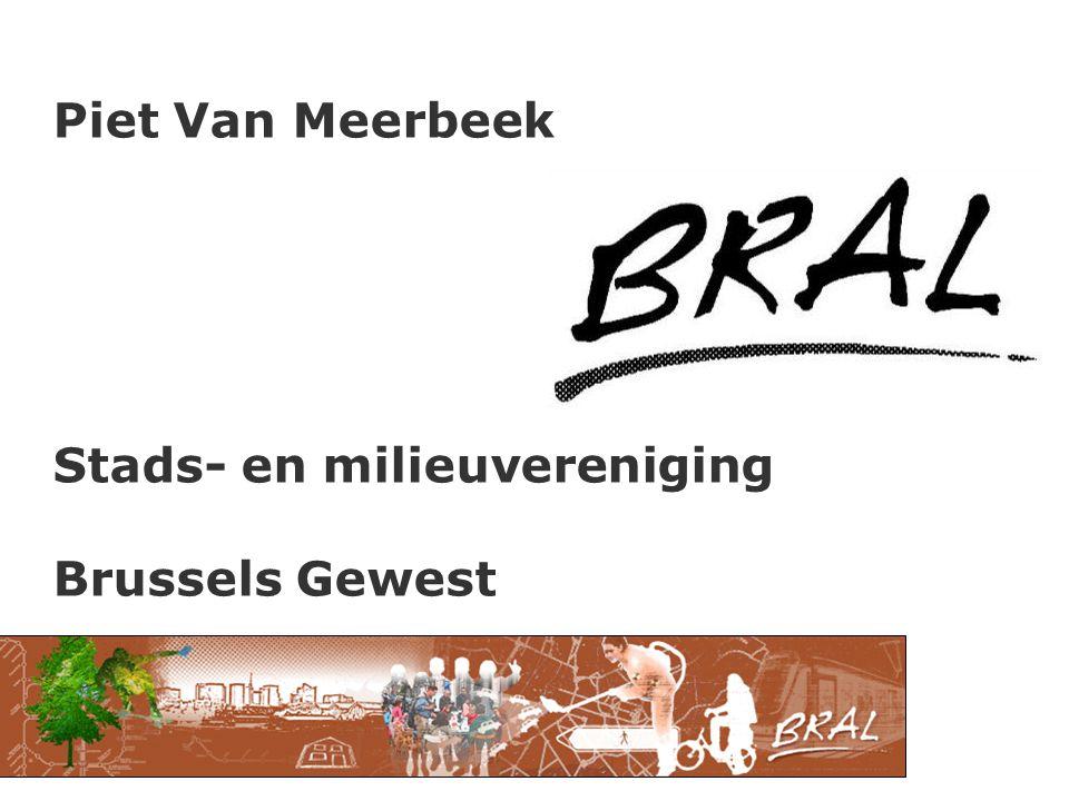 Piet Van Meerbeek Stads- en milieuvereniging Brussels Gewest
