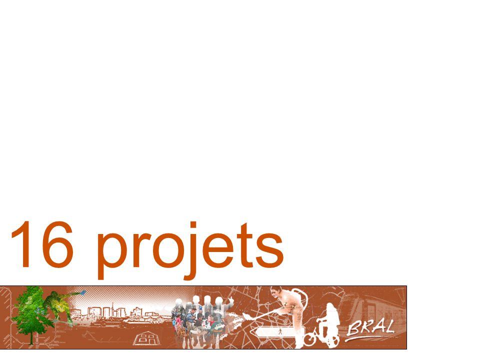 16 projets