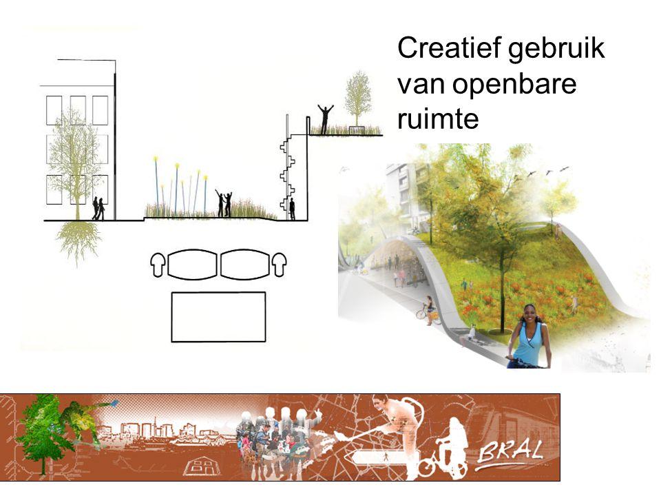 Creatief gebruik van openbare ruimte