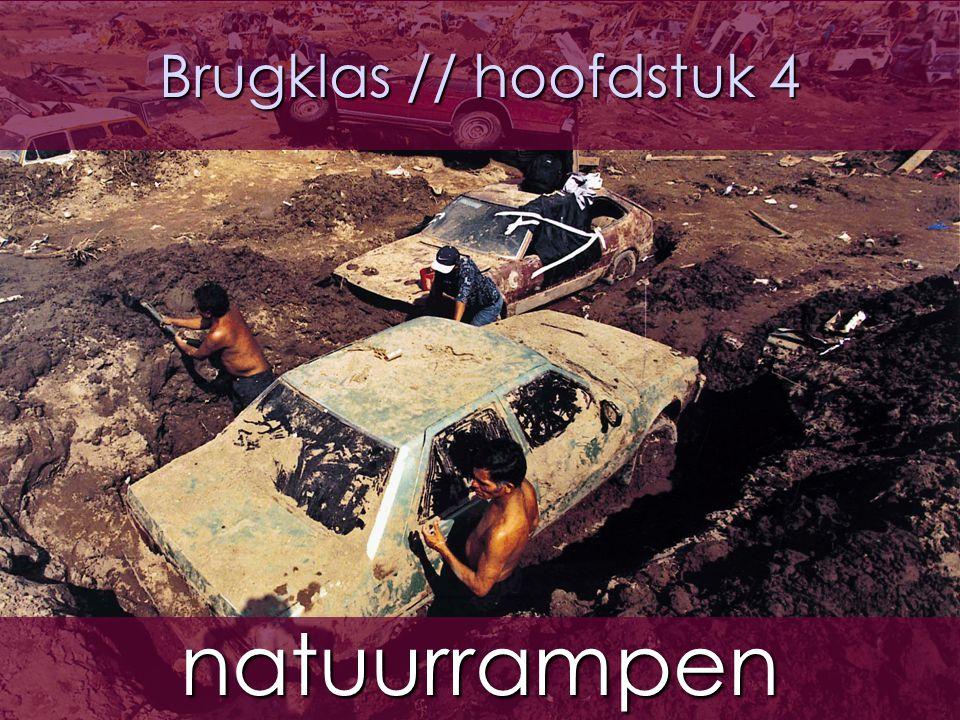 2 H4 §2.1 // aardbevingen  Er zijn:  1.natuurrampen; alleen natuurinvloed  2.milieurampen; invloed van de natuur en de mens  3.cultuurrampen; Alleen invloed mens (wat mensen elkaar aandoen)