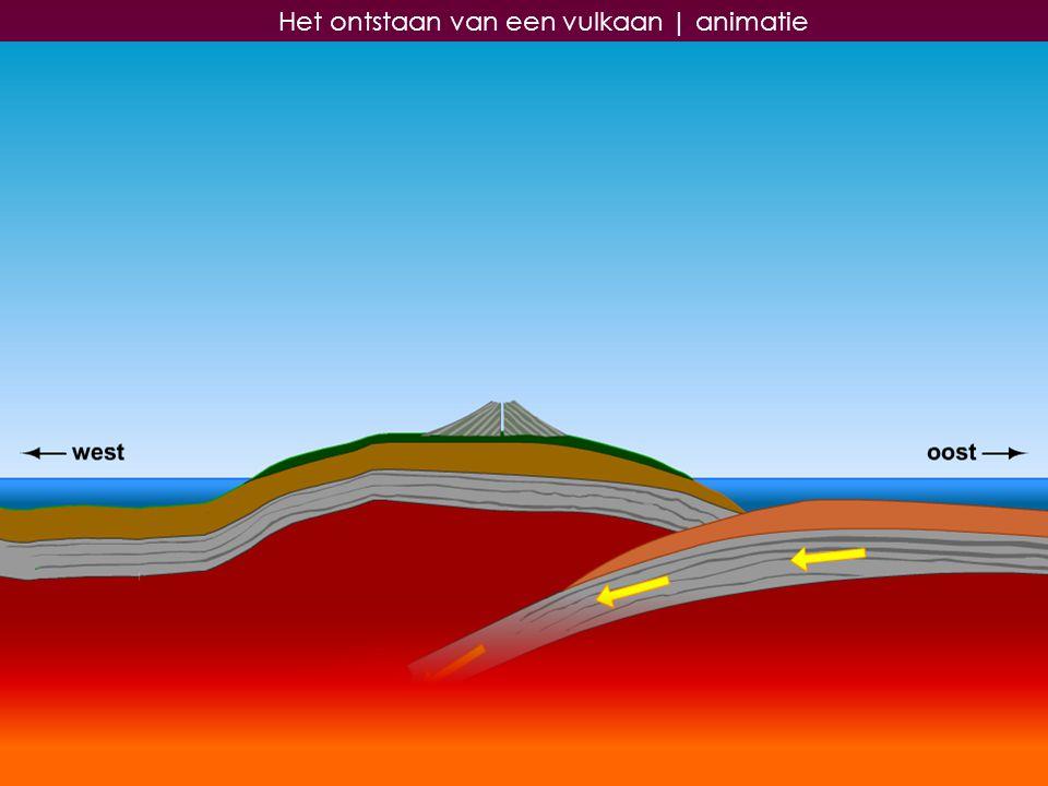 24 Het ontstaan van een vulkaan   animatie