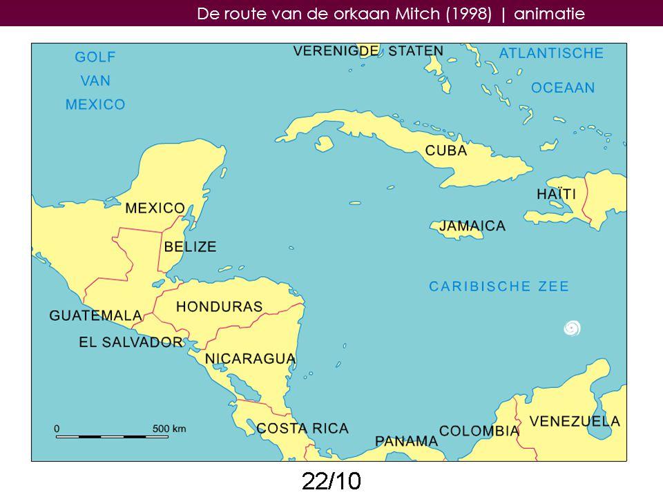 29 De route van de orkaan Mitch (1998)   animatie