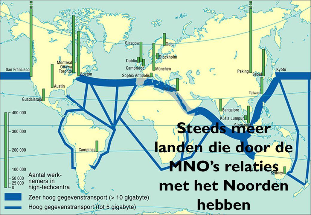 Steeds meer landen die door de MNO's relaties met het Noorden hebben