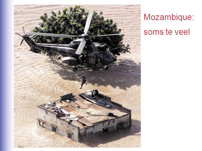 Mozambique: soms te veel
