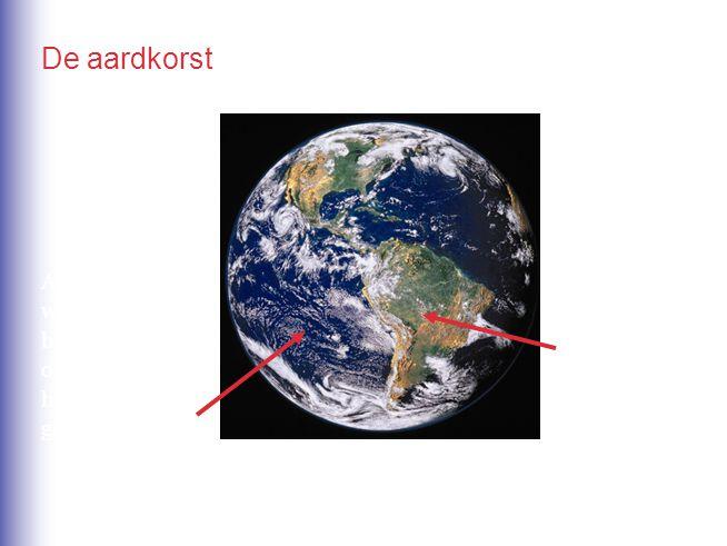 Als je het water wegdenkt, bestaat de oceaanbodem uit het vulkanisch gesteente basalt. Continenten bestaan uit graniet en sediment- gesteente. De aard