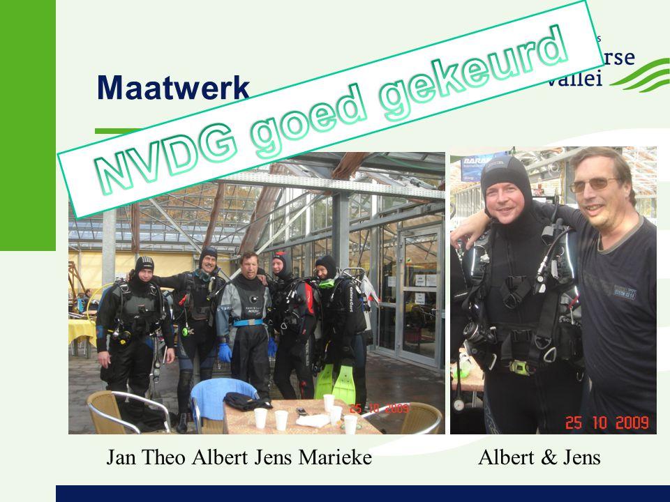 Maatwerk Albert & JensJan Theo Albert Jens Marieke