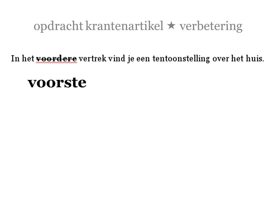 opdracht krantenartikel  verbetering  Leiden heeft veel musea: het Rijksmuseum van Oudheden, het Rijksmuseum voor Volkenkunde, de Boerhaave, de Lakenhal en [x] andere.