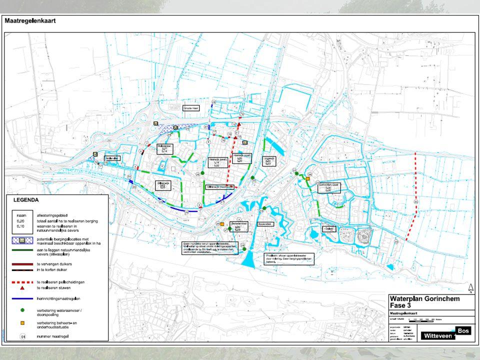Planning Proces -Vaststellen door waterschap en in college in oktober - Bewoners informeren in november Werkzaamheden - Uitvoering conform planning in het waterplan tussen nu en 2014
