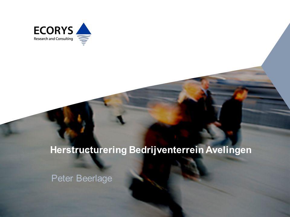 Herstructurering Bedrijventerrein Avelingen Peter Beerlage