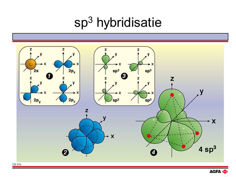 sp 3 hybridisatie