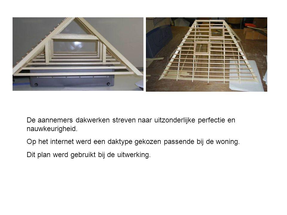 De aannemers dakwerken streven naar uitzonderlijke perfectie en nauwkeurigheid.
