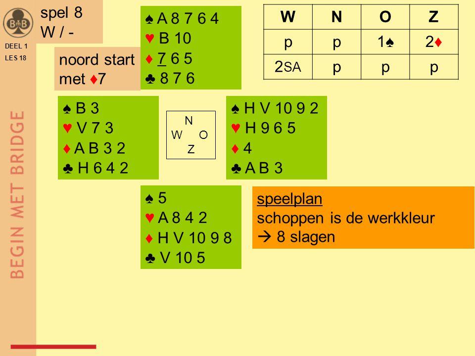 x Oefenspellen 11501D-11508D Hoofdstuk 9 DEEL 1 LES 18 Het volgbod Hoofdstuk 15 gekoppeld aan les 18 EINDE