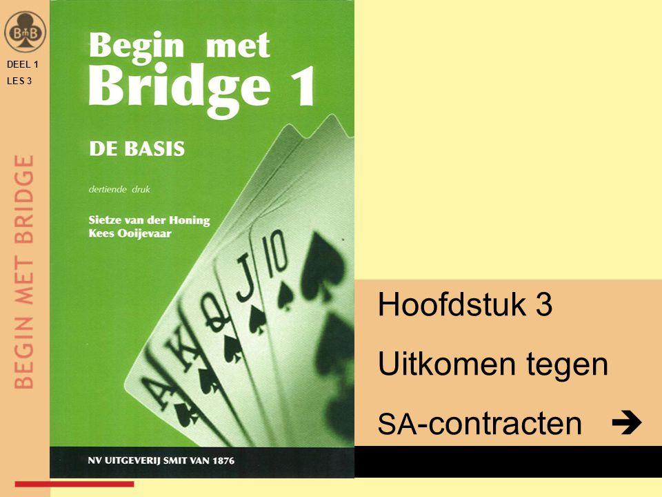 DEEL 1 LES 3 x Hoofdstuk 3 Uitkomen tegen SA -contracten 