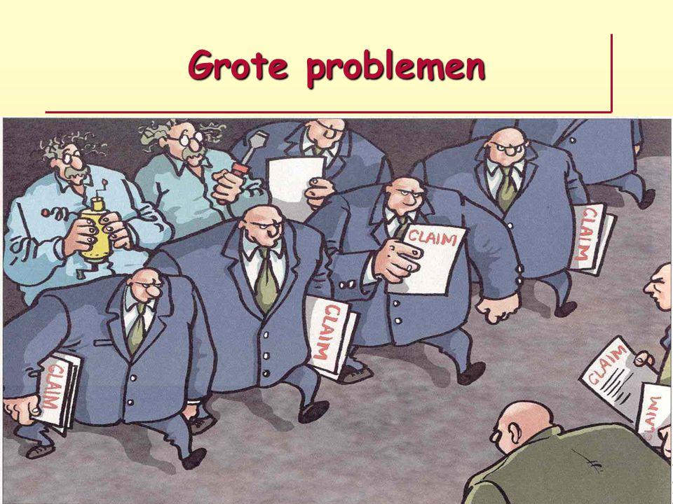 Grote problemen