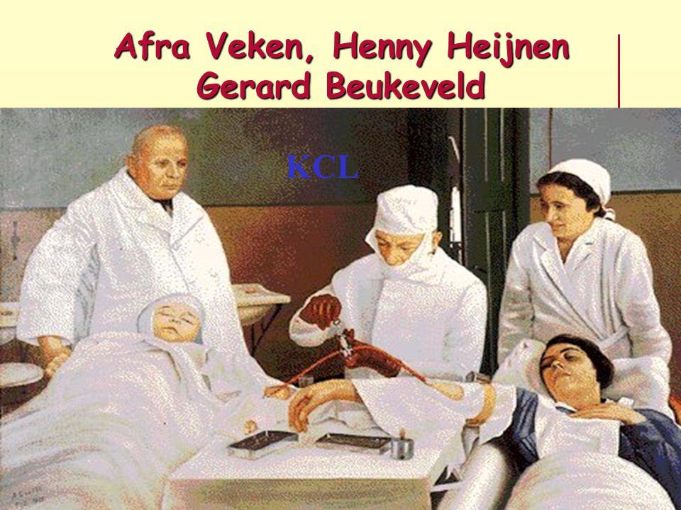 Afra Veken, Henny Heijnen Gerard Beukeveld KCL