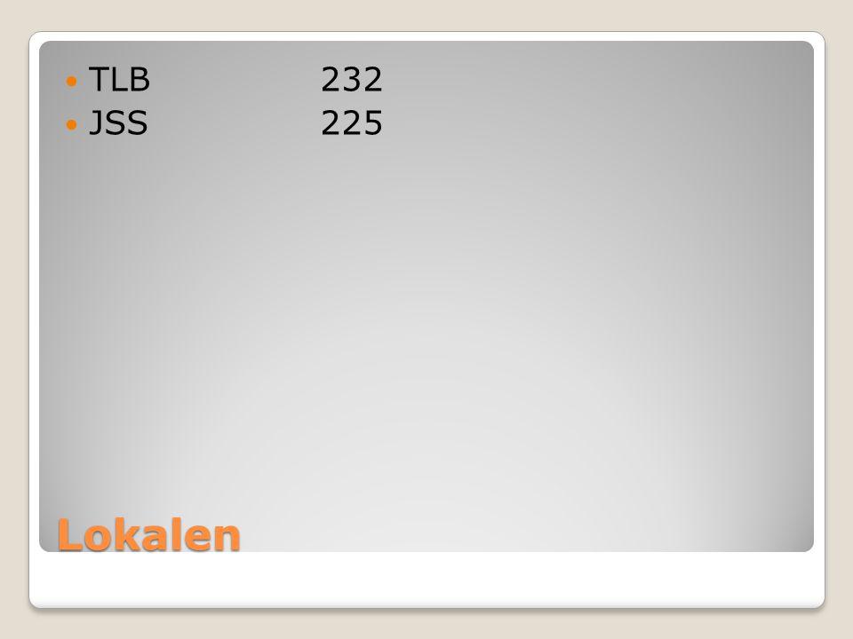Lokalen TLB232 JSS225