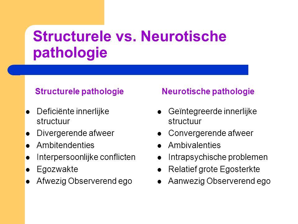 Structurele vs.