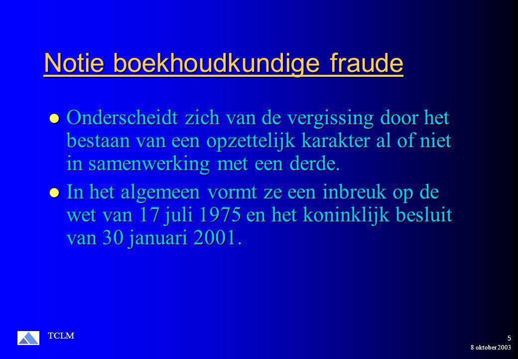8 oktober 2003 TCLM 25 Toepassing op de onderneming Manipulo NV Gecorrigeerd Gecorrigeerd Participaties : 578.900 Participaties : 578.900 Waardev.