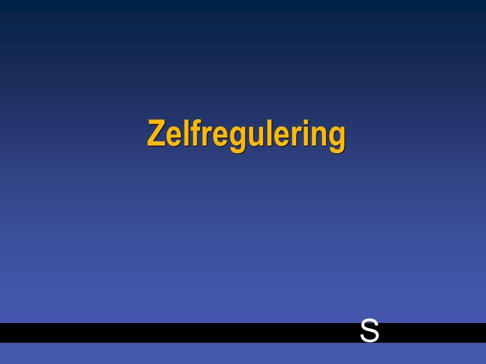 S 10 Zelfregulering