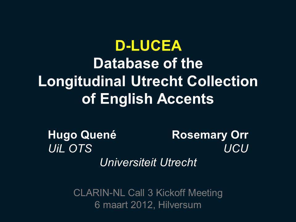 University College Utrecht zelfstandig onderdeel van UU bachelor college in Angelsaksische stijl –drie jaar –brede academische vorming –ca 3x200 studenten selectief, competitief, intensief Engels als lingua franca intensief campus-leven