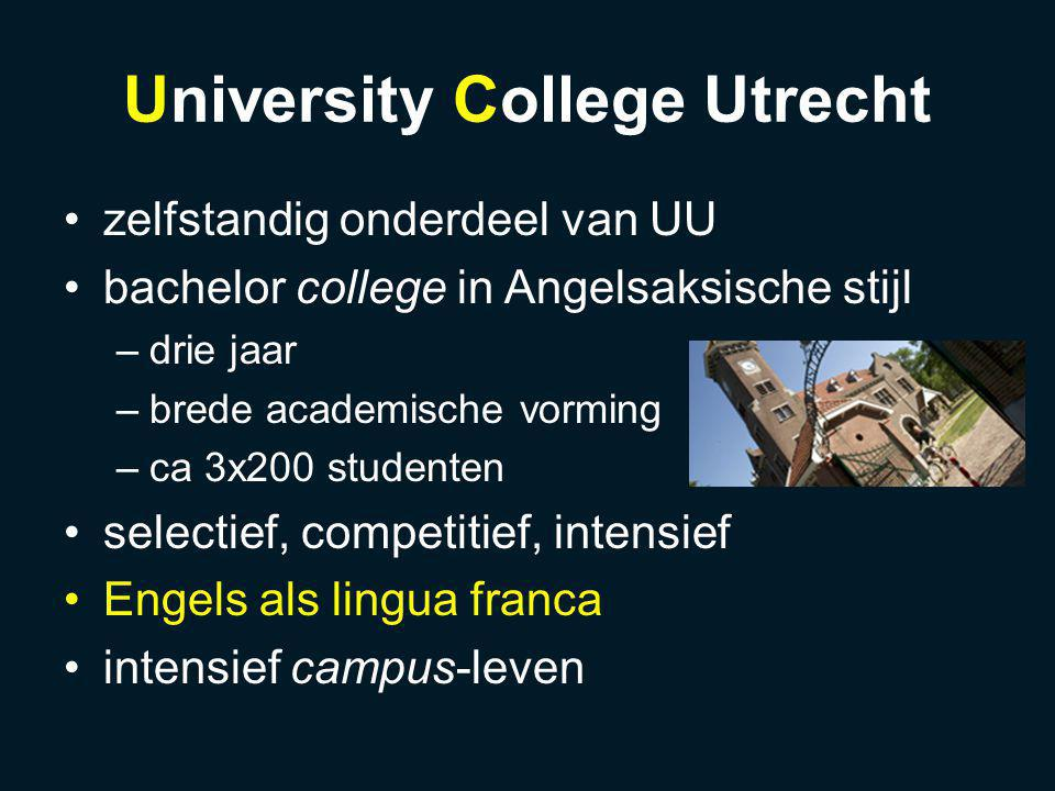 UCU English Accent moedertalen studenten: 5% EN, 60% NL, 35% anders English-only policy geen training in EN uitspraak geen invloed van EN omgevingstaal spontaan ontwikkelend, uniek accent: UCU English