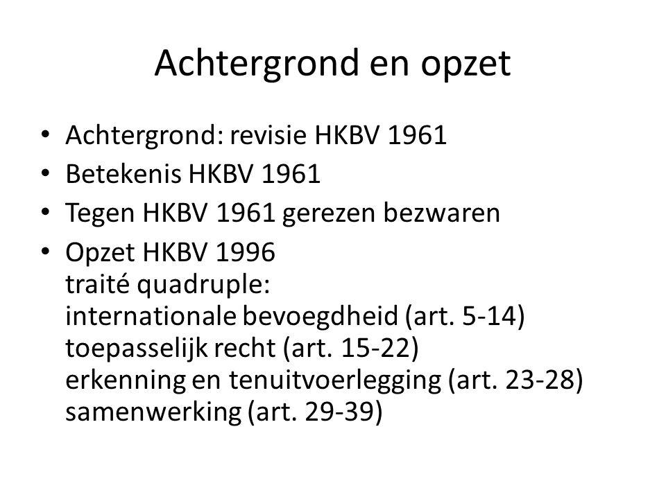 Toepassingsgebied Materieel: ouderlijke verantwoordelijkheid uitwerking in art.