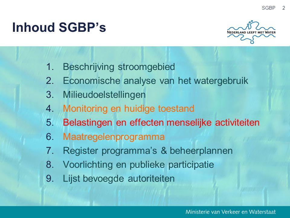SGBP3 Wat vraagt de Europese Commissie.