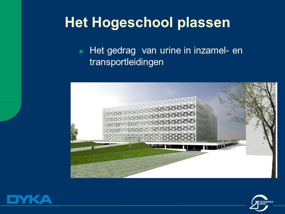 Het gedrag van urine in inzamel- en transportleidingen Het Hogeschool plassen