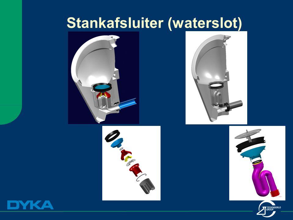Stankafsluiter (waterslot)