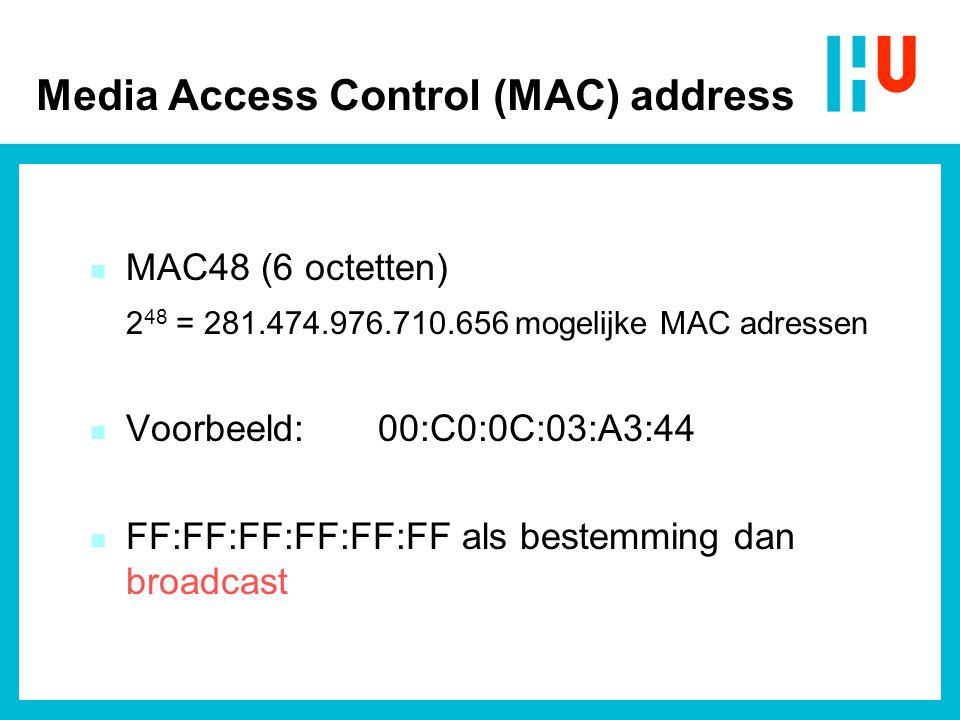 - 10 Mb/sec => 100 nsec per bitcel - Snelheid in coax is 2/3 x lichtsnelheid => 2/3 (3.10 8 ) = 2.10 8 m/s - In 100 nsec 20 meter; ergo één bit is 20 meter lang Ethernet kabellengte (1)