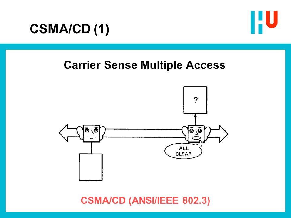 CSMA/CD (2) Collision Detection
