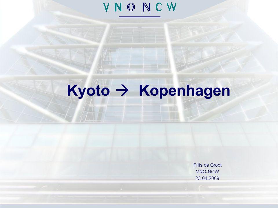 Kyoto  Kopenhagen Frits de Groot VNO-NCW 23-04-2009