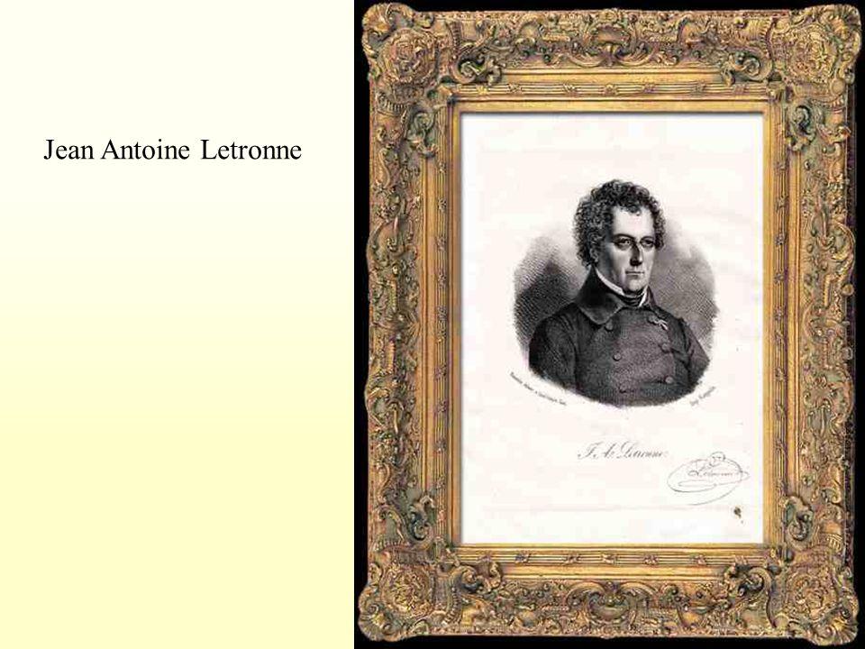 Jean Antoine Letronne
