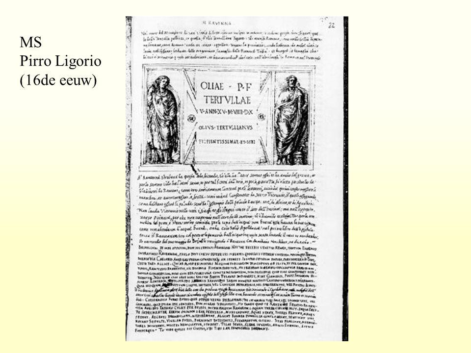 MS Pirro Ligorio (16de eeuw)