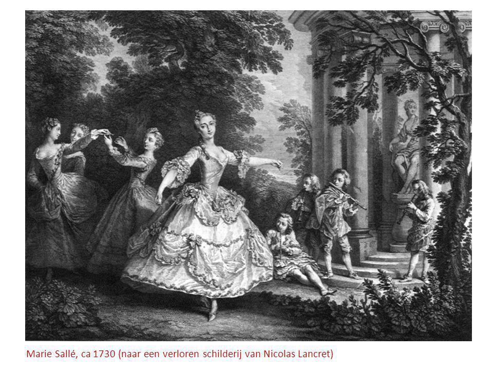 Marie Sallé, ca 1730 (naar een verloren schilderij van Nicolas Lancret)