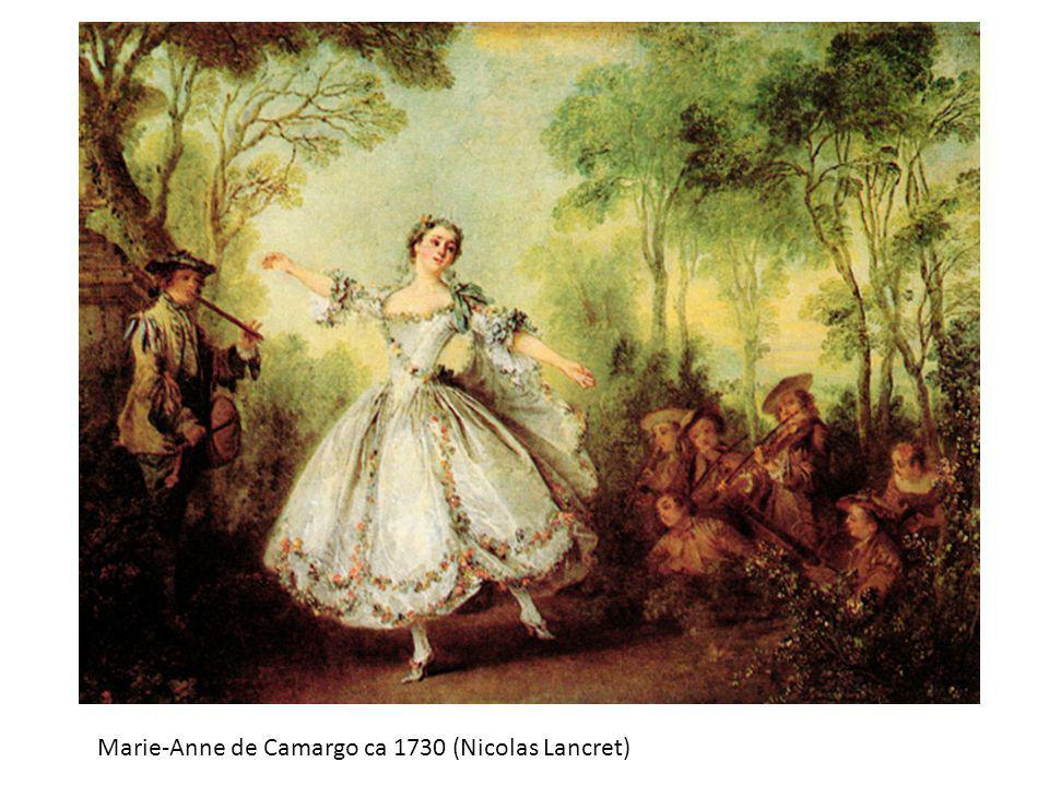 Marie-Anne de Camargo ca 1730 (Nicolas Lancret)