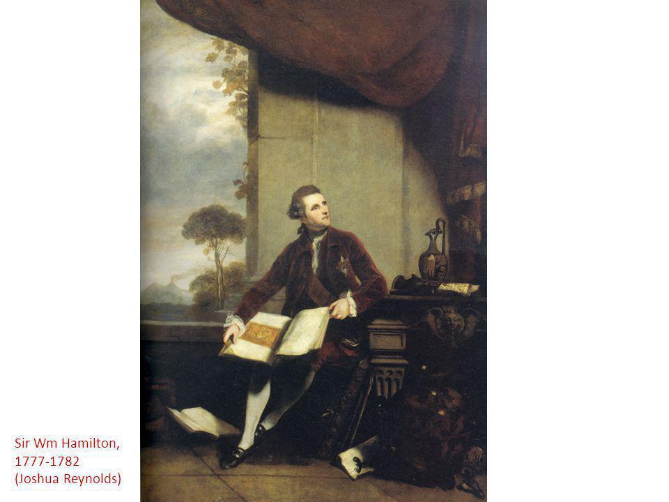 Sir Wm Hamilton, 1777-1782 (Joshua Reynolds)