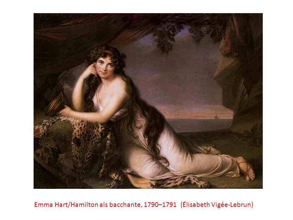 Emma Hart/Hamilton als bacchante, 1790–1791 (Élisabeth Vigée-Lebrun)
