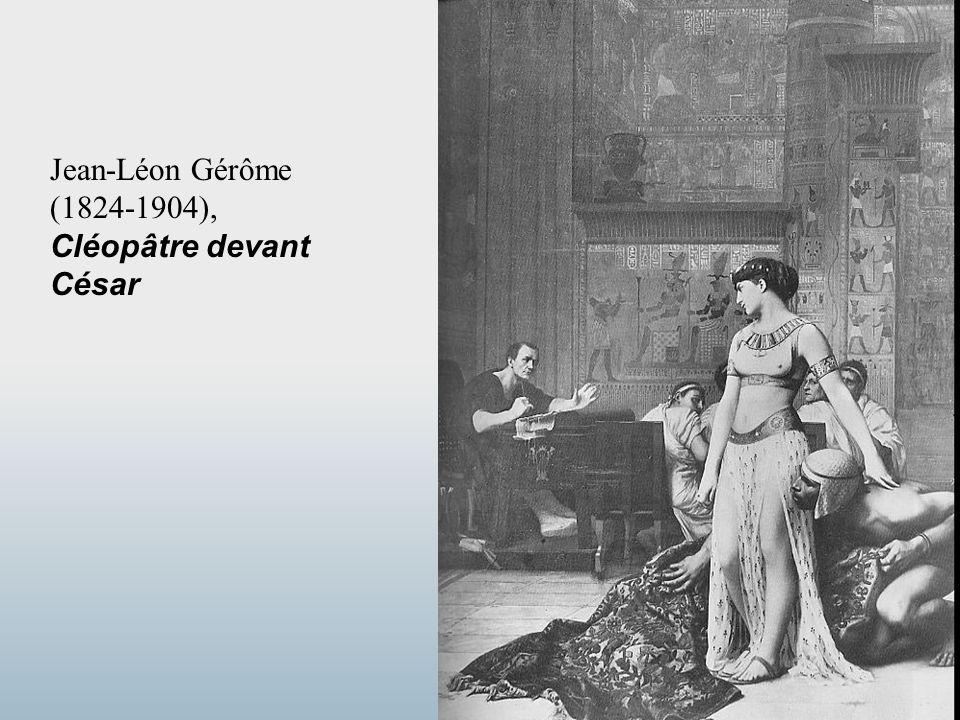 Jean-Léon Gérôme (1824-1904), Cléopâtre devant César