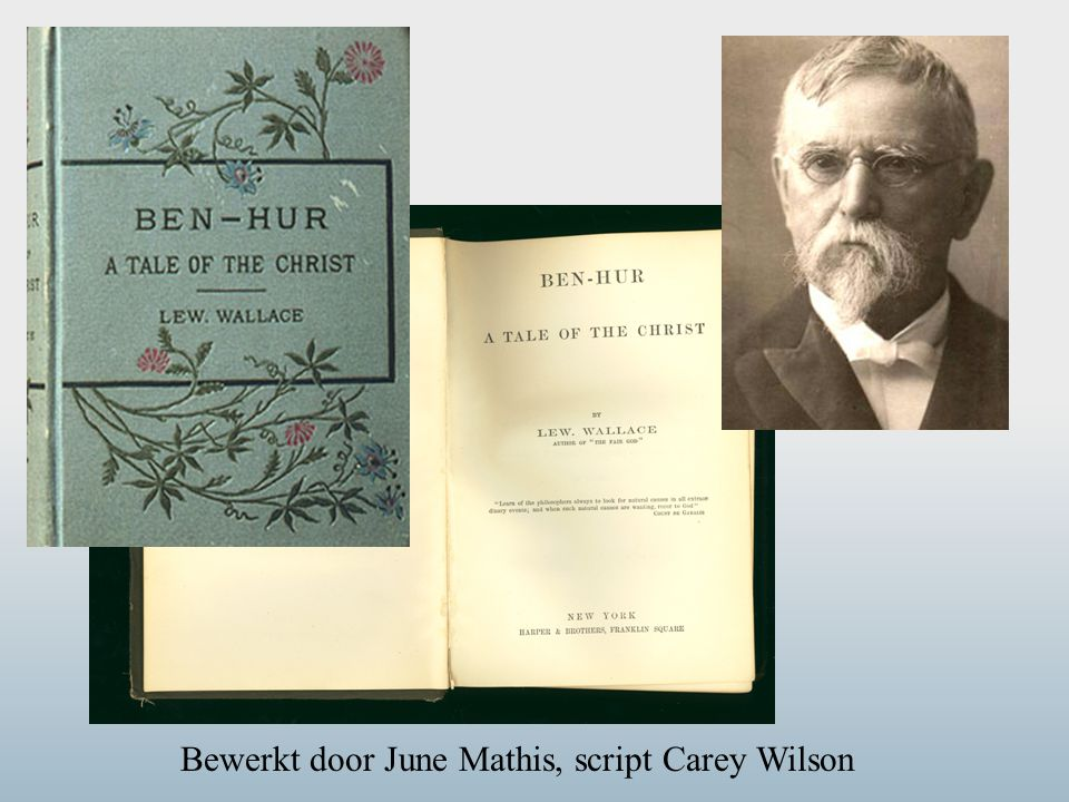 Bewerkt door June Mathis, script Carey Wilson