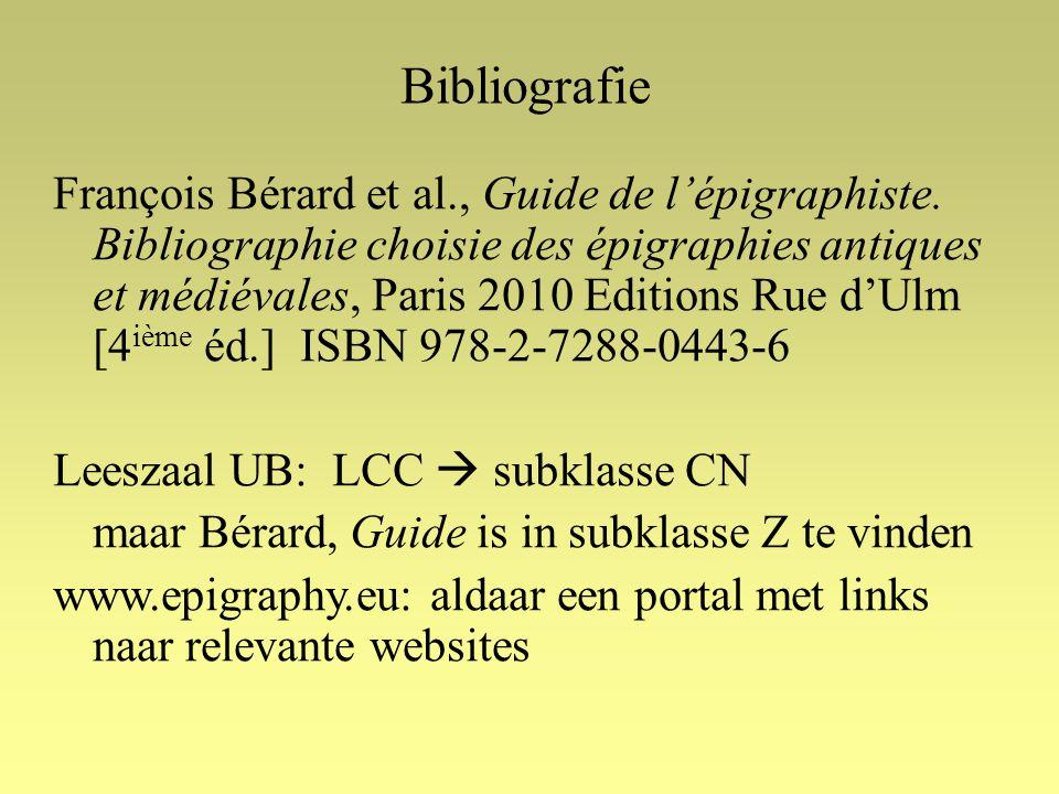 François Bérard et al., Guide de l'épigraphiste.