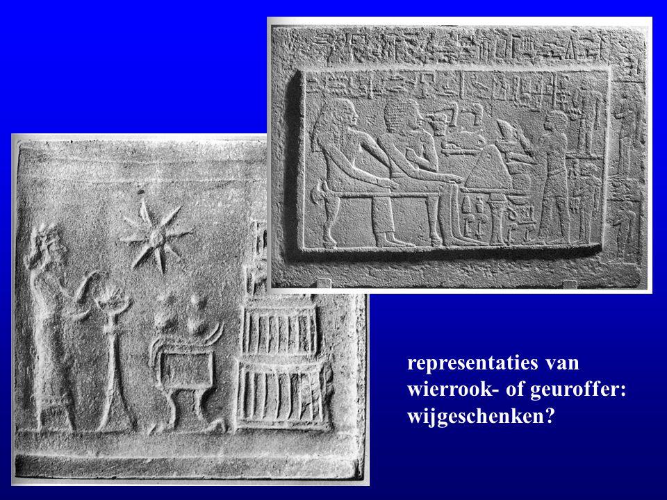 representaties van wierrook- of geuroffer: wijgeschenken?