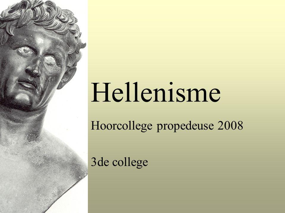 Hellenisme Hoorcollege propedeuse 2008 3de college