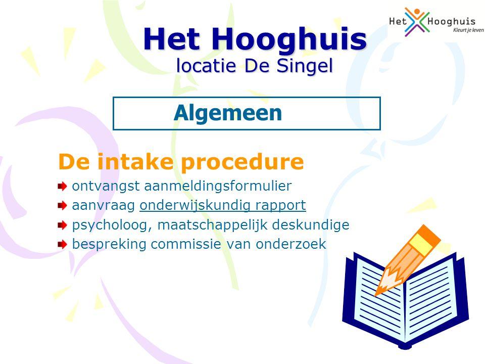 Het Hooghuis locatie De Singel Kapelaan Nausstraat 2 5348 TH Oss 0412-224110 Heeft u vragen???