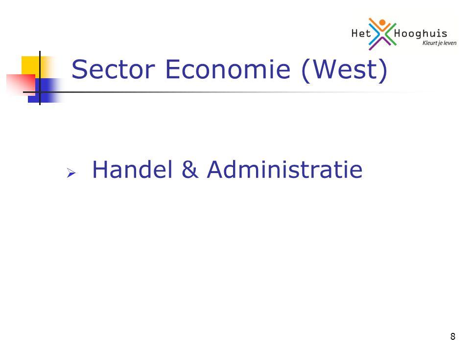 8 Sector Economie (West)  Handel & Administratie