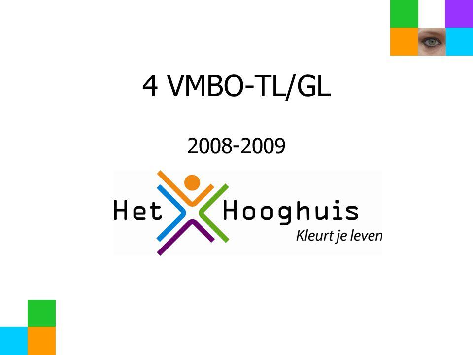 4 VMBO-TL/GL 2008-2009